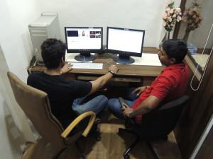 "STUDIO-3 – ""MALHAAR"" (Video Editing & Mixing setup)"